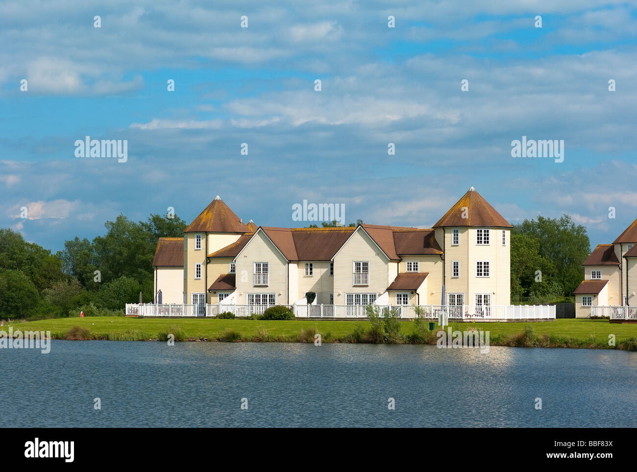 Modern Second Homes And Holiday Rentals In Cotswold Water Park Gloucestershire UK