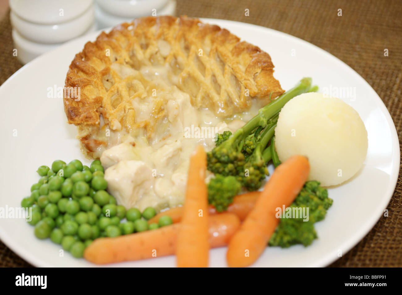 Fish pie with vegetables stock photo royalty free image for What vegetables go with fish