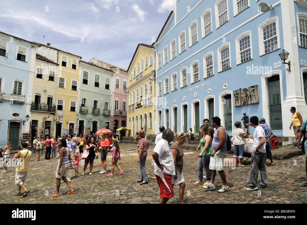 Largo do pelourinho square and museum funda o casa de - Amado salvador ...