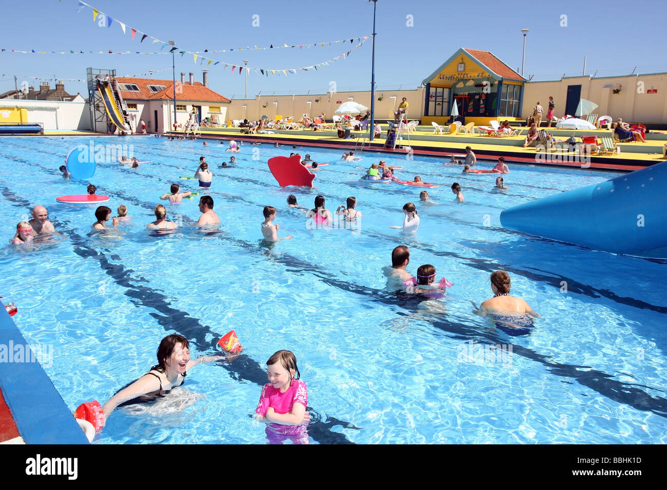 The Historic Open Air Swimming Pool At Stonehaven Aberdeenshire Stock Photo Royalty Free Image