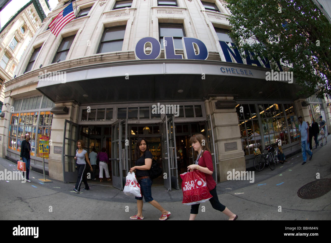 Old navy logo stock photos old navy logo stock images alamy old navy shoppers outside an old navy store in the new york neighborhood of chelsea buycottarizona