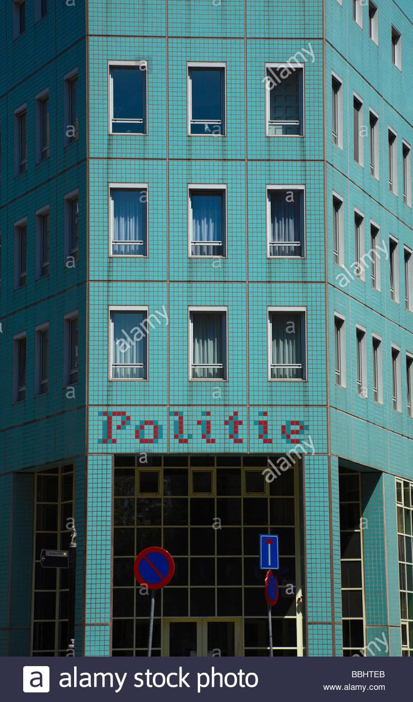 Politie bureau Rotterdam Police station in the center of Rotterdam
