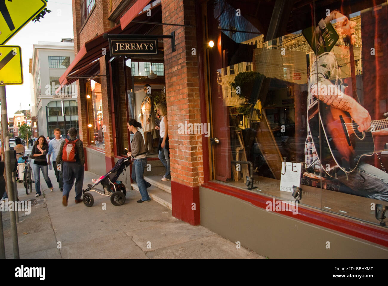 Exterior Of Belly And Beyond Clothing Store Soma Stock Photo