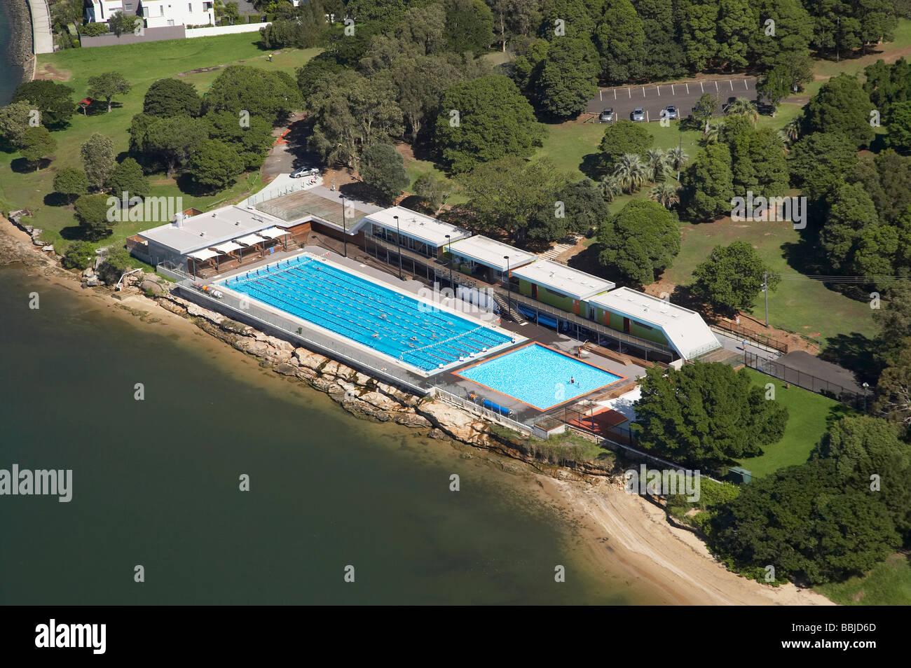 Cabarita Swim Centre Cabarita Park Parramatta River Sydney New South Stock Photo Royalty Free