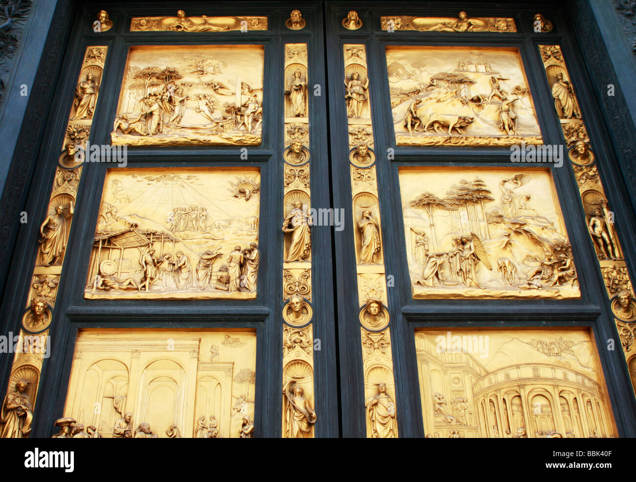 ... Ghiberti\u0027s Gates of Paradise or East Doors of the Baptistry of Florence\u0027s great CathedralIl & Florence Duomo Baptistry East doors Lorenz Ghiberti Florence ... Pezcame.Com