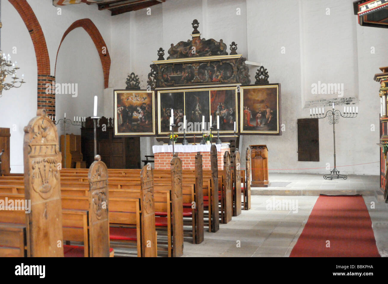 interior view of the altar in the church of the holy. Black Bedroom Furniture Sets. Home Design Ideas