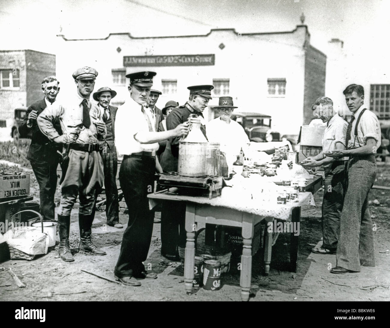 Free Food And Soup Kitchen In The Great Depression