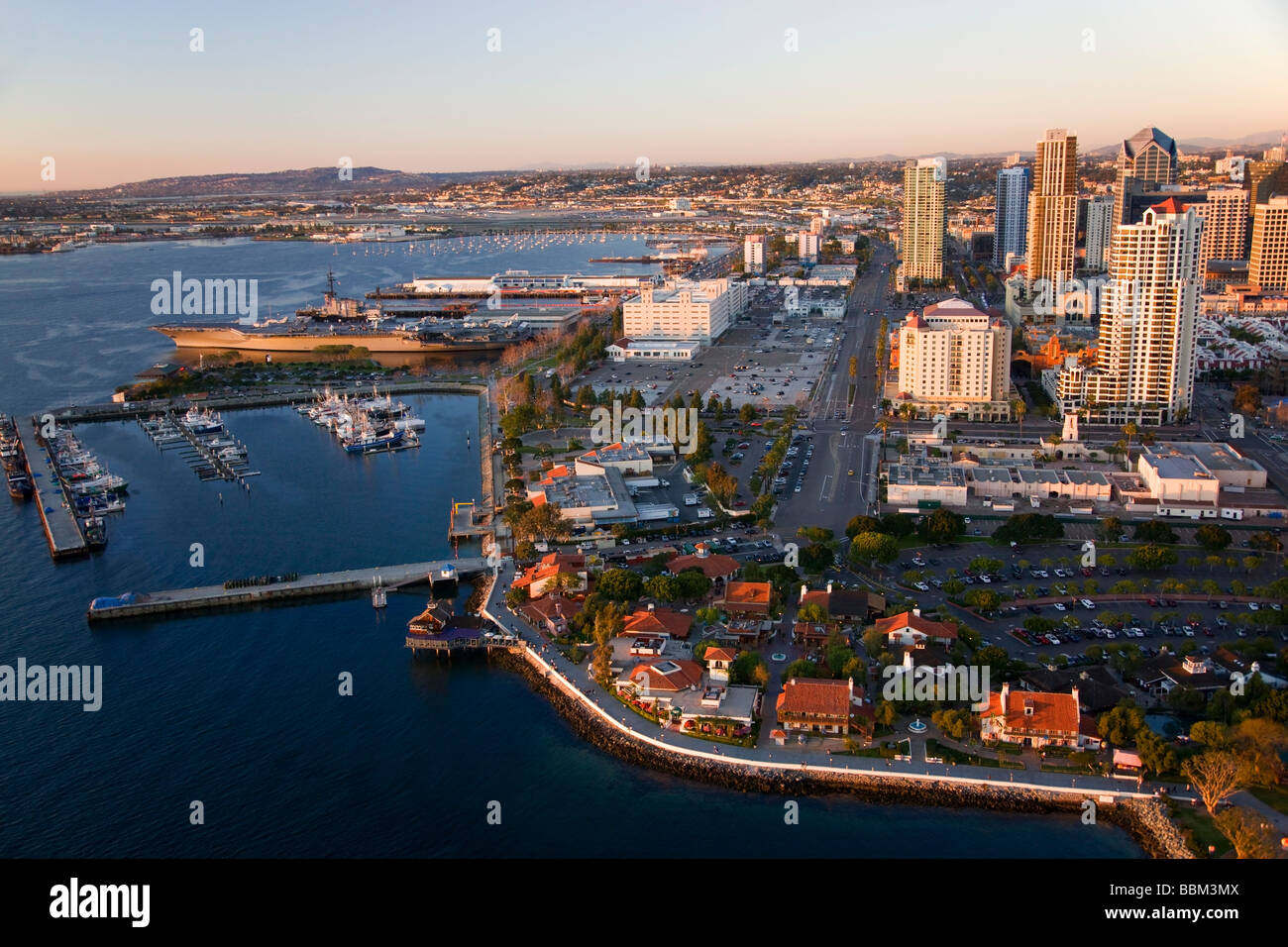 Seaport Village And The Embarcadero Marina Park Downtown