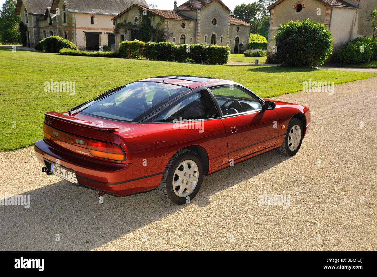 japanese nissan 200sx sport coupe stock photo royalty free image 24425622 alamy. Black Bedroom Furniture Sets. Home Design Ideas