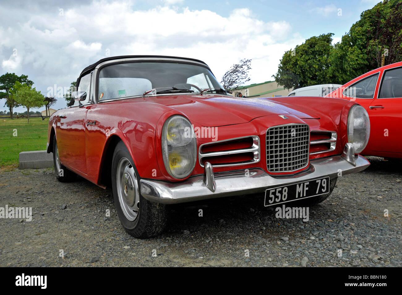 Old Classic French Facel Vega Sports Car automobile Stock Photo ...