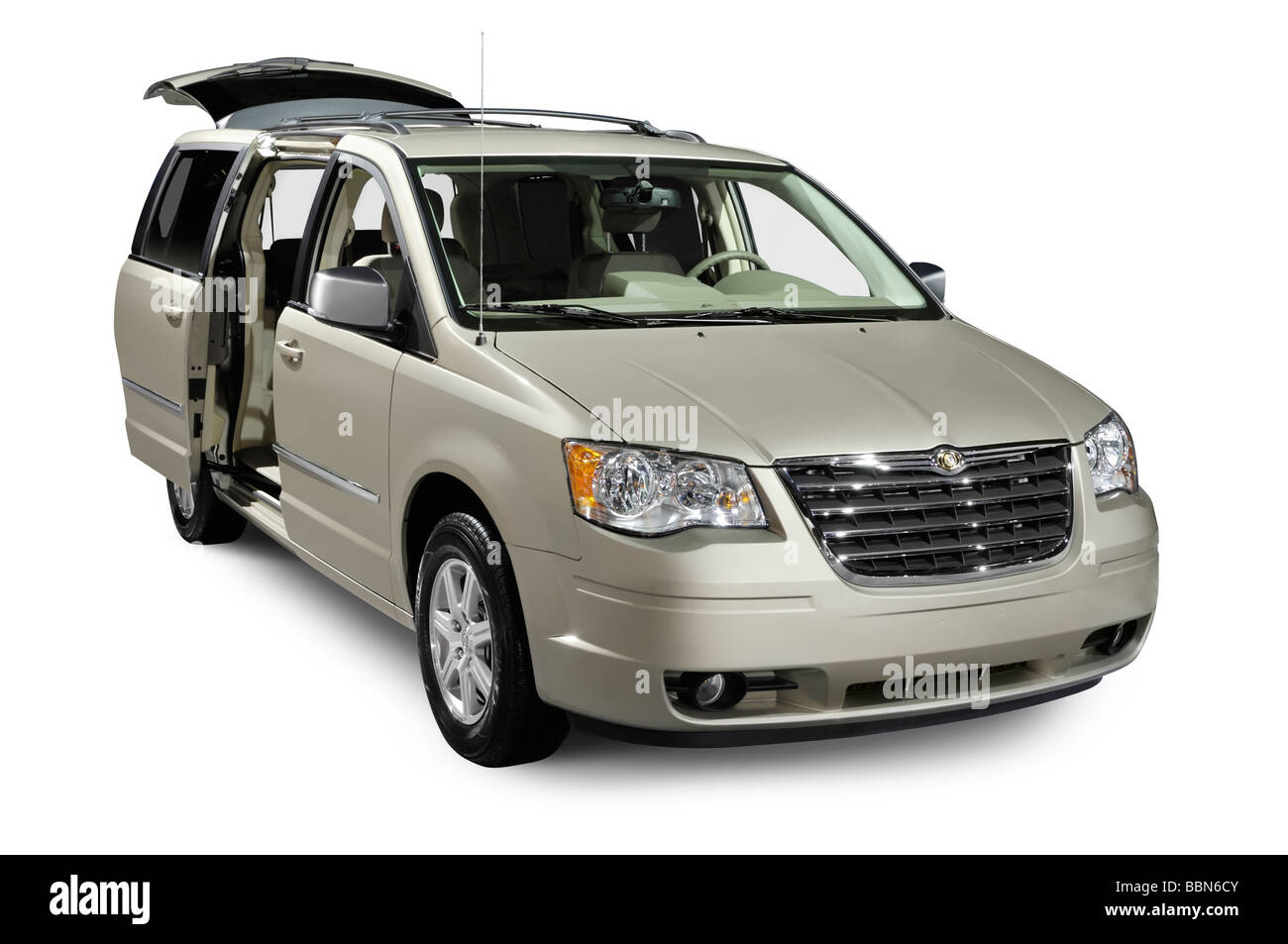 2009 chrysler town and country minivan