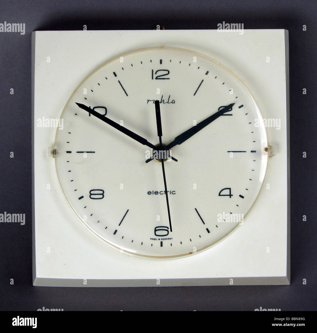 Clocks wall clock for kitchen ruhla electric made by veb stock clocks wall clock for kitchen ruhla electric made by veb uhrenkombinat ruhla gdr 1970s historic historical 20th century amipublicfo Image collections
