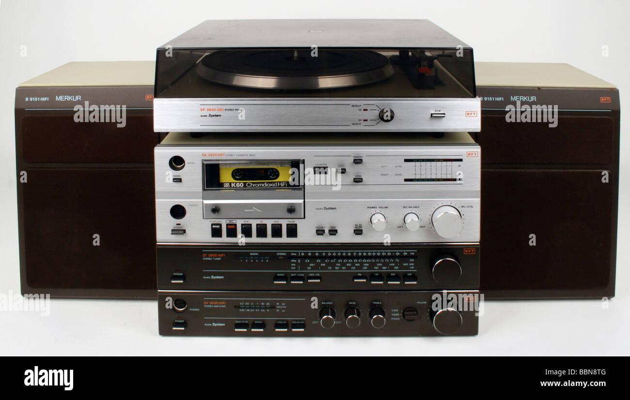 Hi-Fi-Stereo-Kompaktanlage KA61L Radio Dual, Gebr. Steidinge