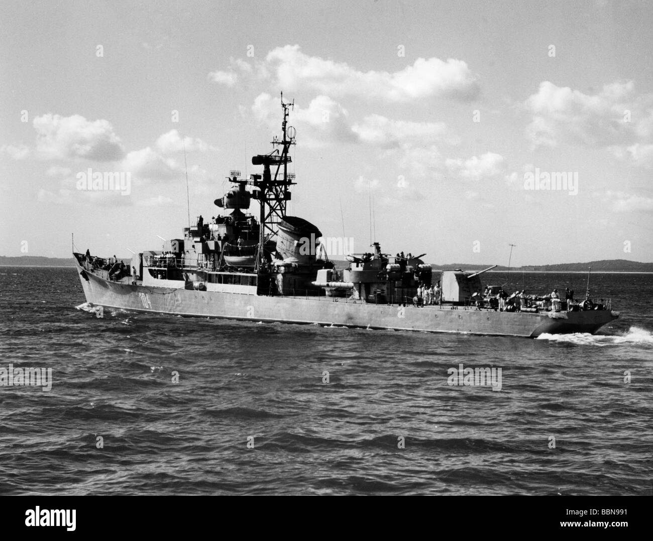 military east germany national peoples navy riga class frigate friedrich engels