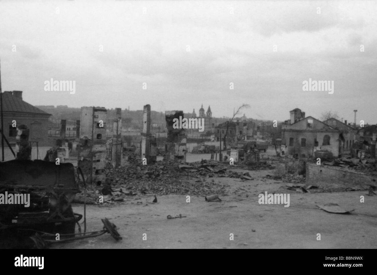 Events second world war wwii russia cities villages for Cities destroyed in ww2