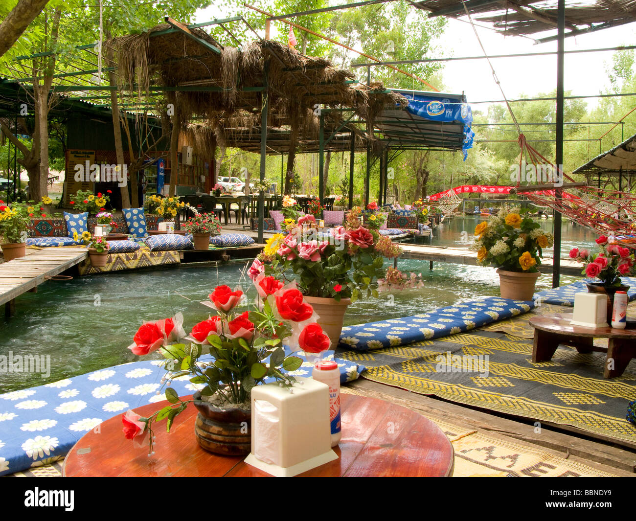 Yakapark Cafe Restaurant Near The Saklikent Gorge