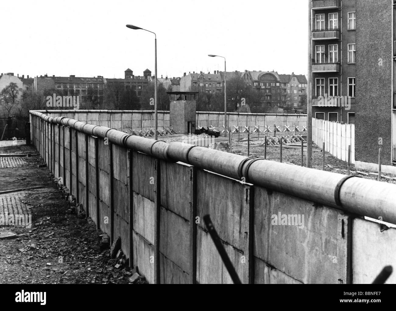 geography travel germany berlin wall at lohmuehlplatz stock photo royalty free image. Black Bedroom Furniture Sets. Home Design Ideas