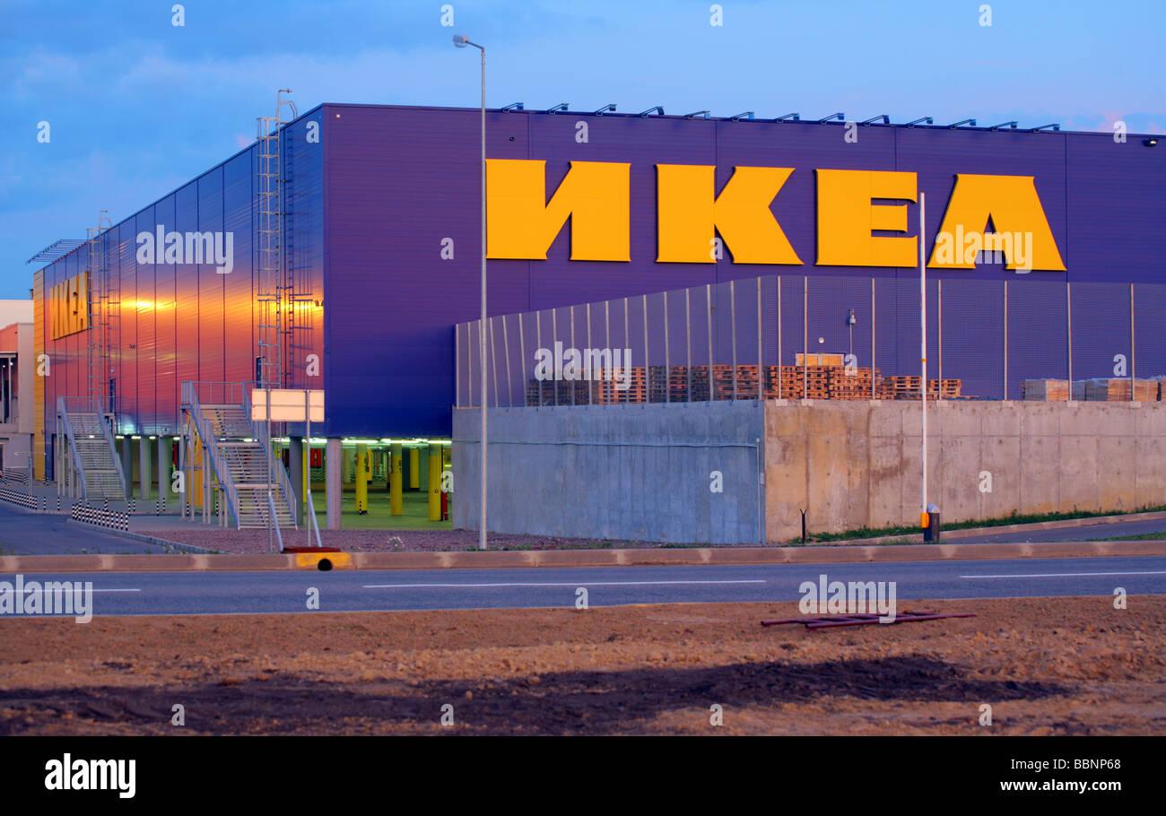 mega ikea shopping center st petersburg russia parnas