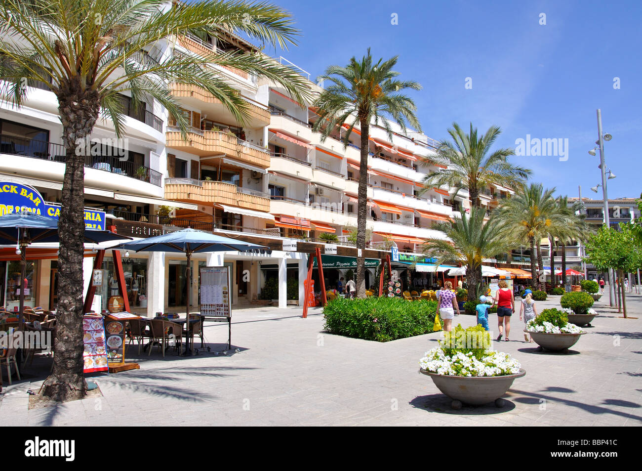 Beach Resorts Spanien