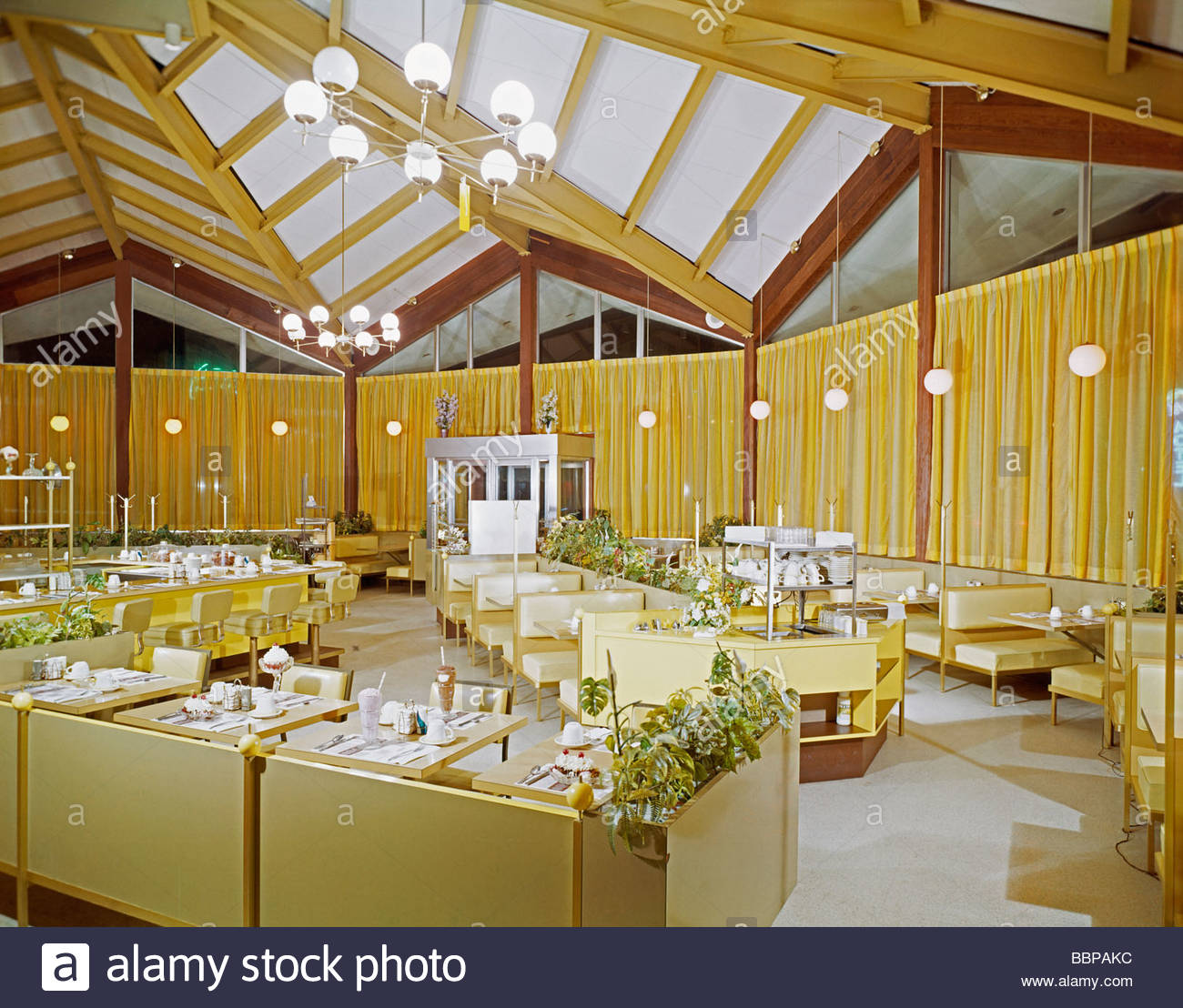 Surfside Restaurant Wildwood NJ Night Interior 1960s This Building Was Taken Apart Moved Reused For The Doo Wop Museum