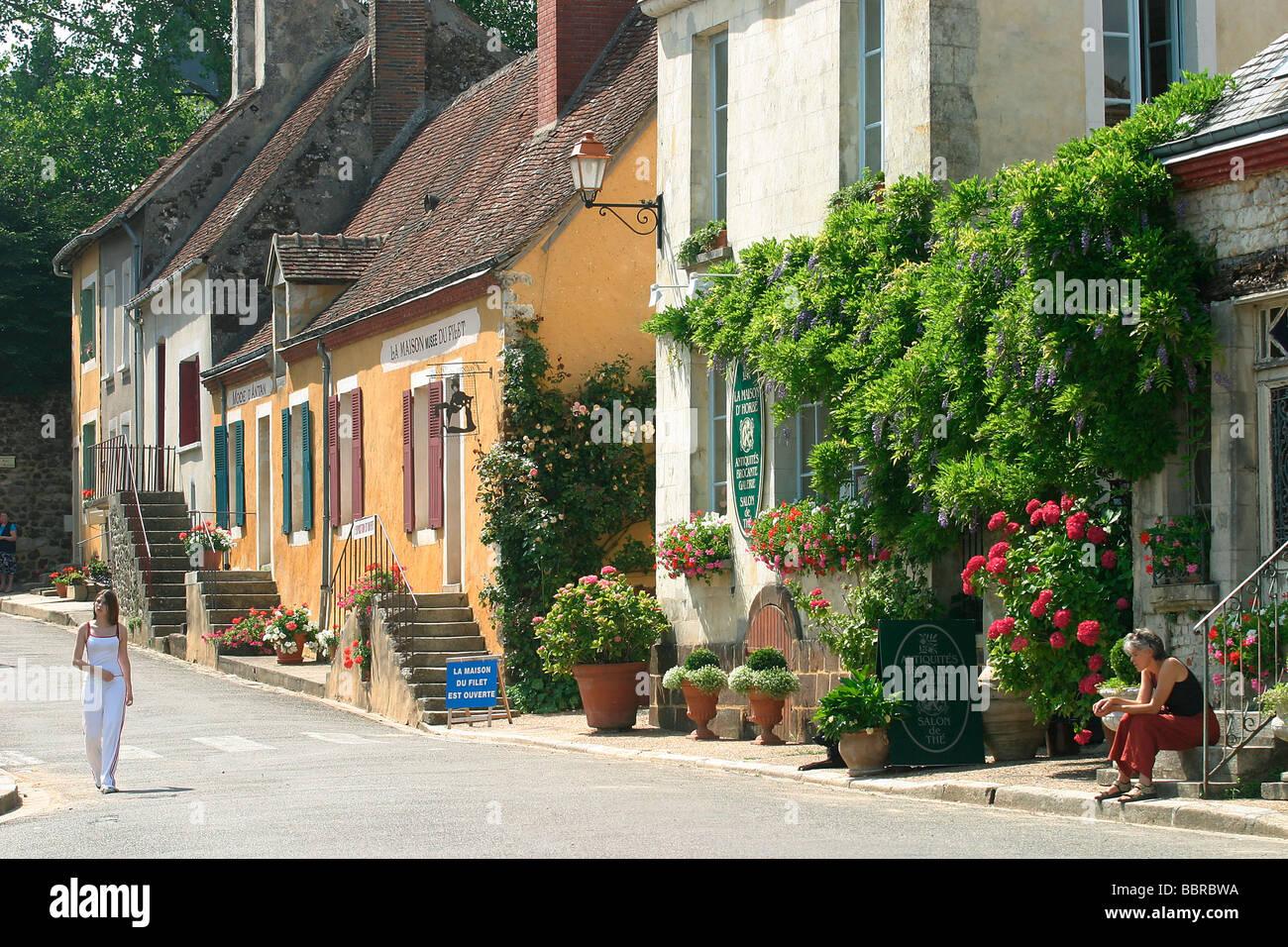 village of la perriere orne 61 normandie france stock. Black Bedroom Furniture Sets. Home Design Ideas