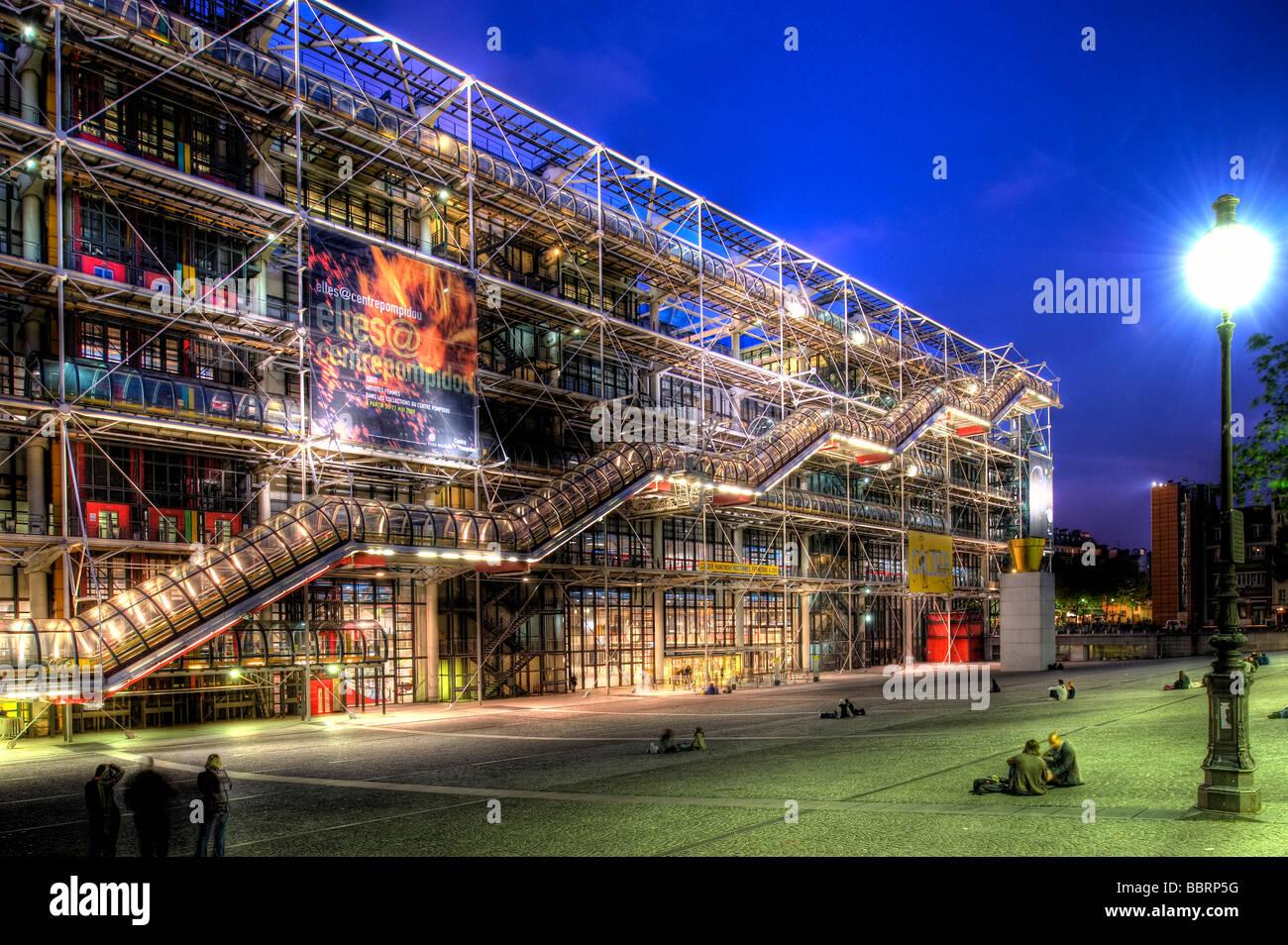 Paris centre national d art et de culture georges pompidou for Art minimal centre pompidou