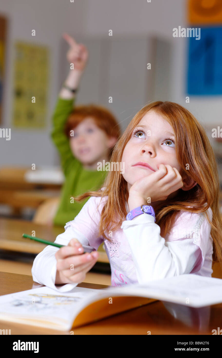 The gallery for --> Daydreaming In School Children