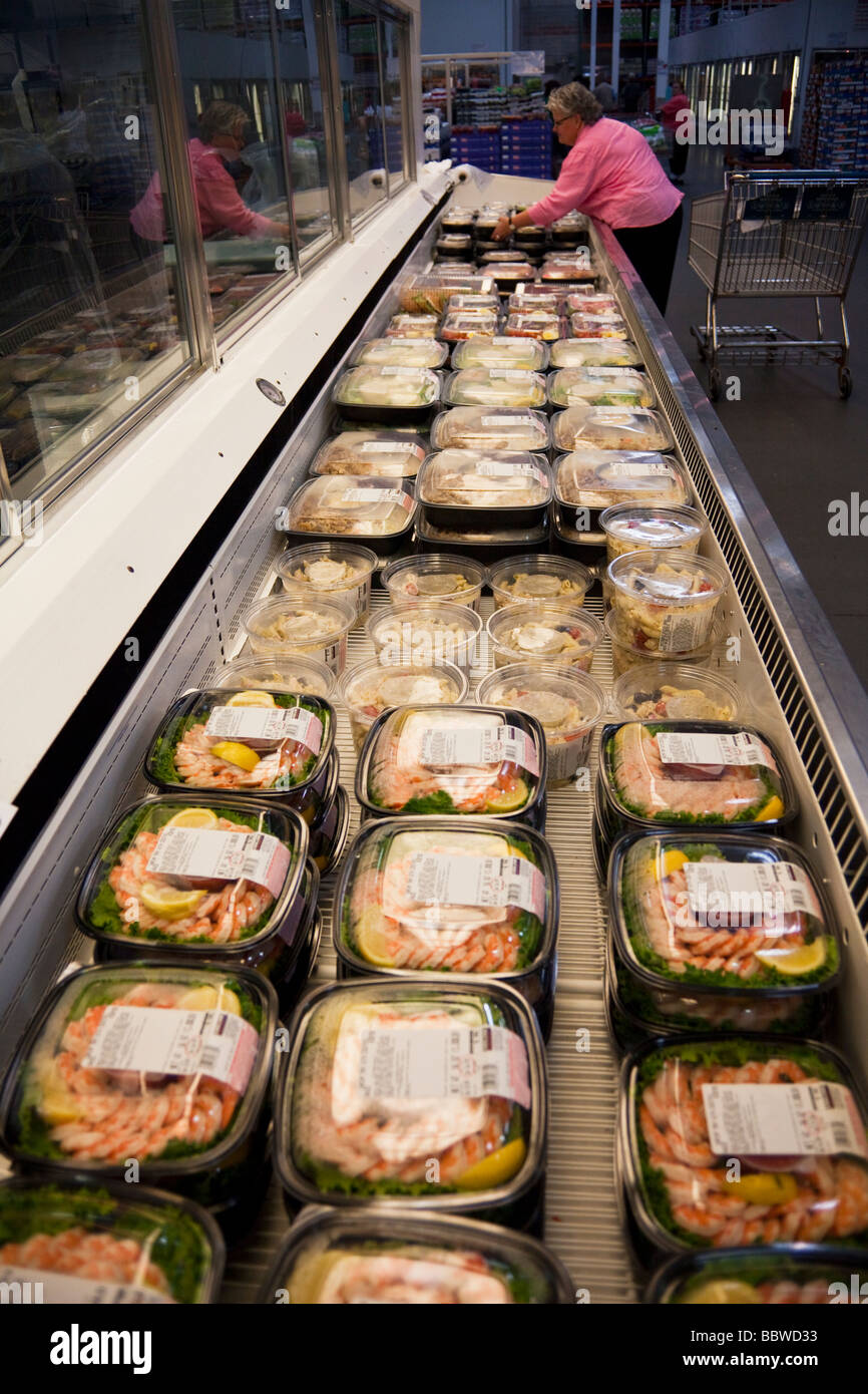 Frozen fish products freezer costco warehouse usa stock for Costco frozen fish