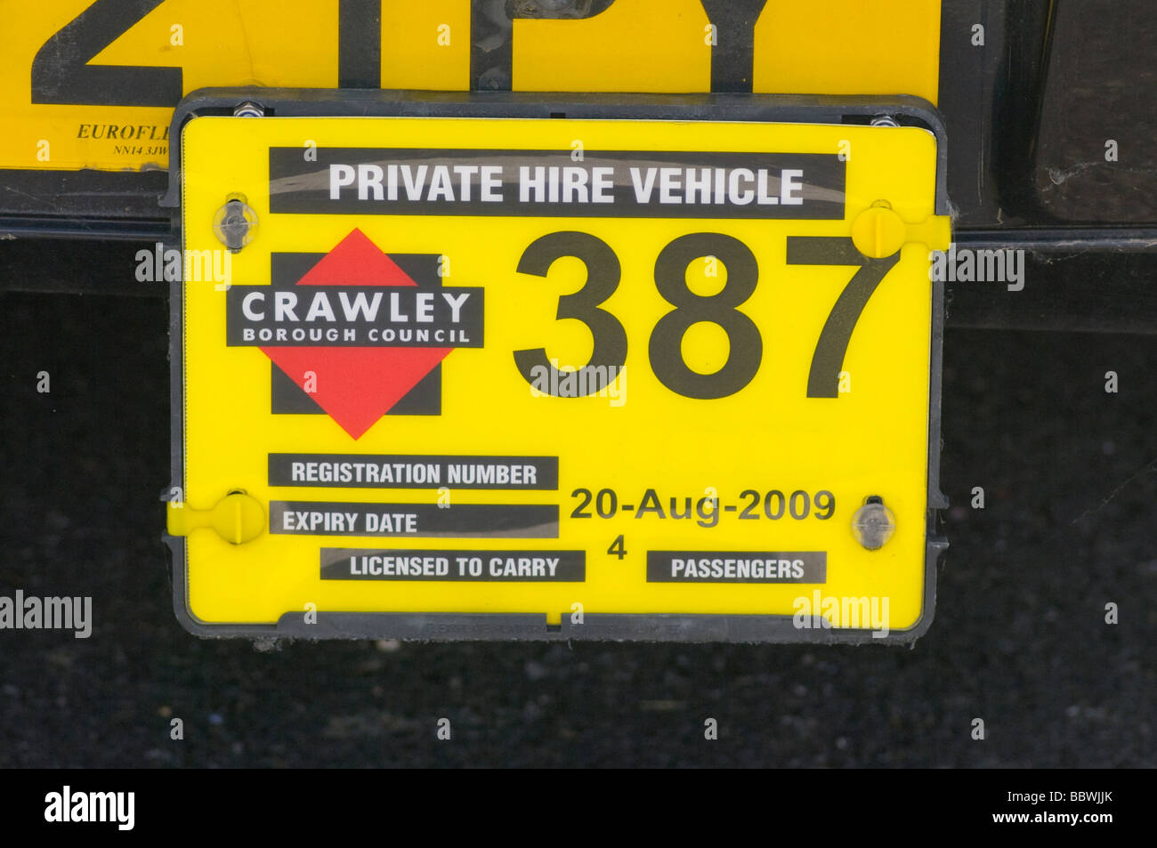Hire Car Licence