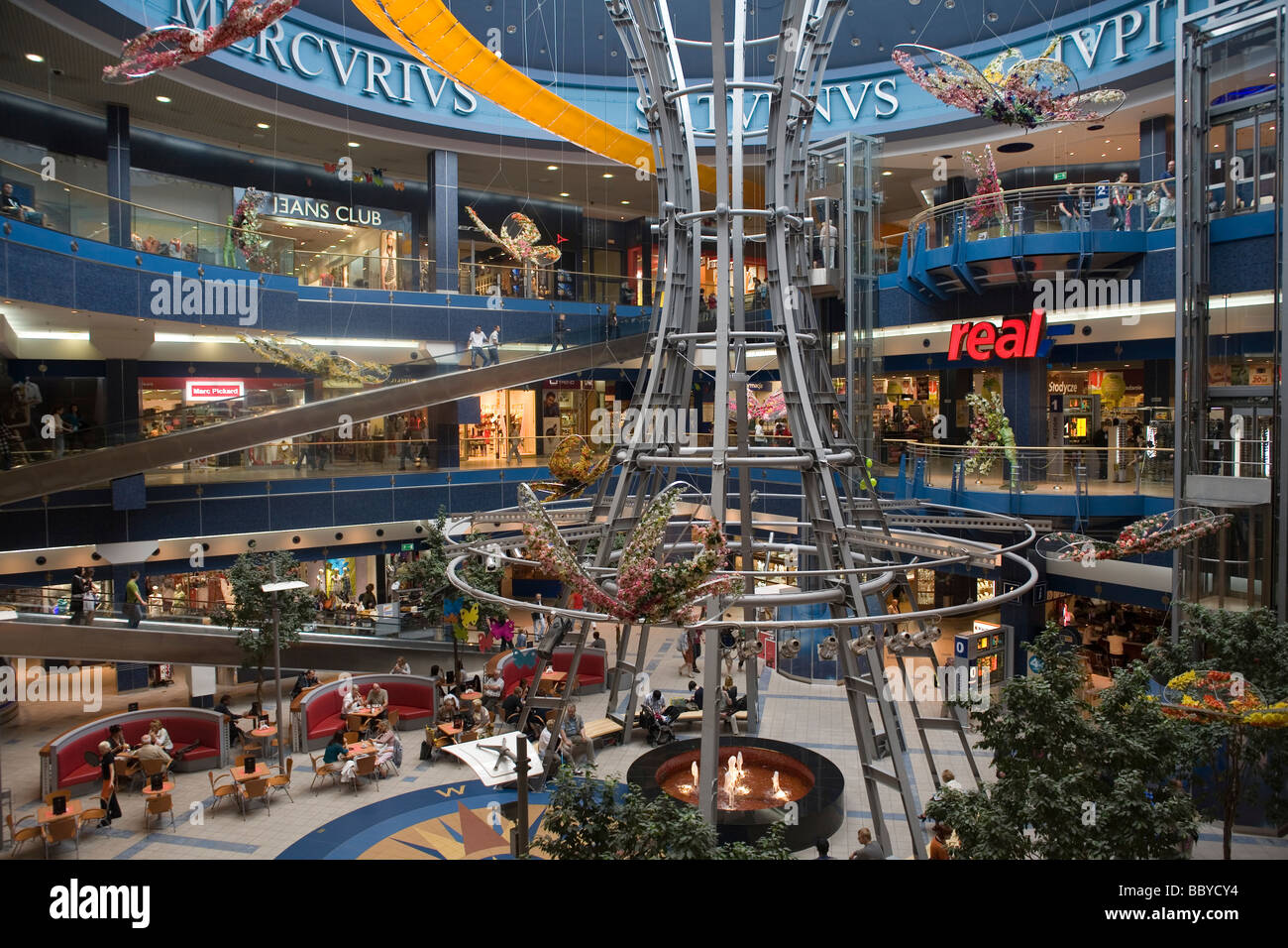 Poland Szczecin Pazim Shopping Centre Stock Photo Royalty Free Image 24574456 Alamy