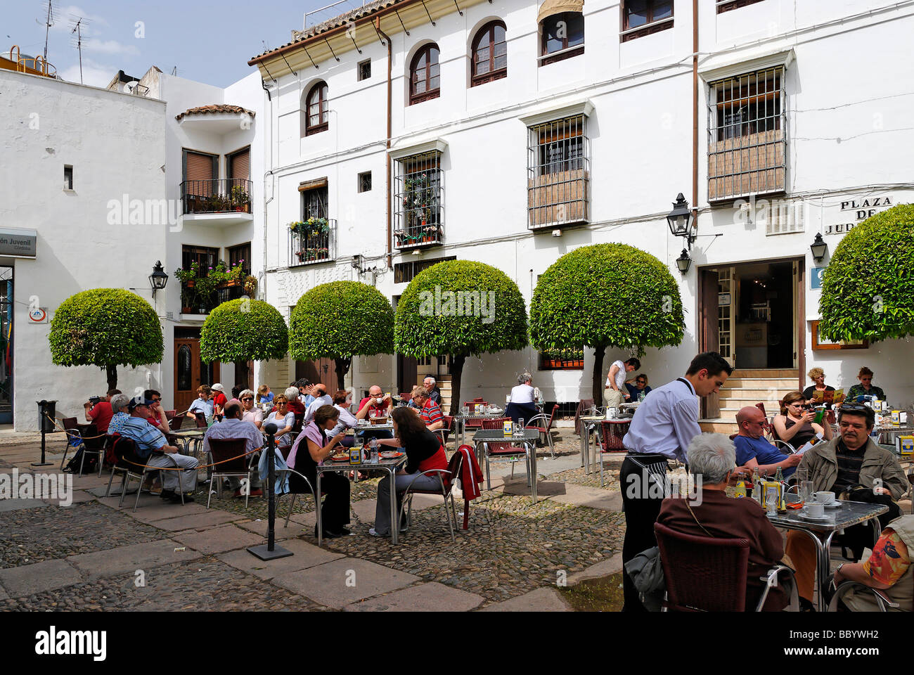 Juderia, the former Jewish quarter, Cordoba, Andalusia, Spain, Europe Stock P...