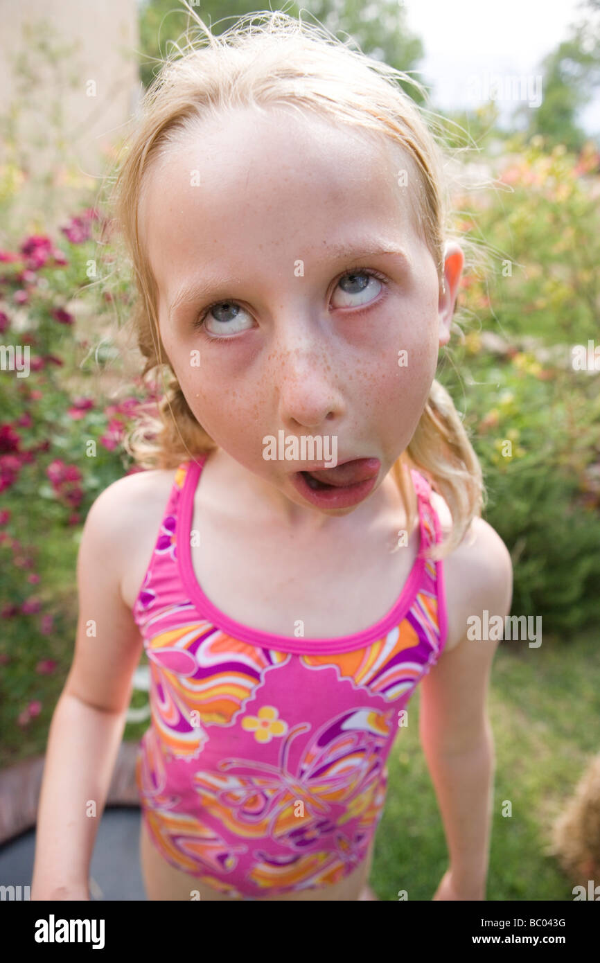 girl ugly face bathing suit
