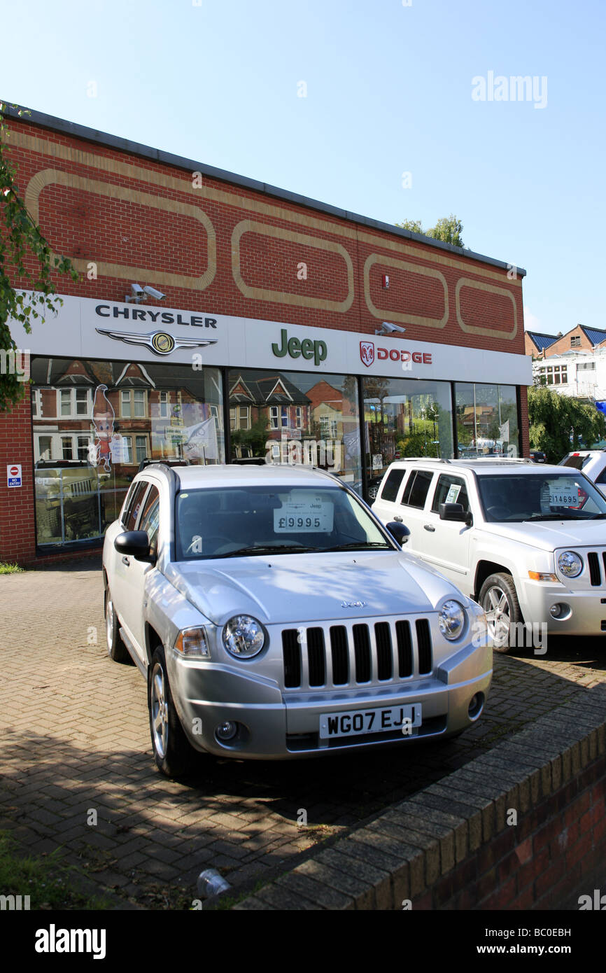 Chrysler dodge jeep car dealership and forecourt stock photo chrysler dodge jeep car dealership and forecourt biocorpaavc Choice Image