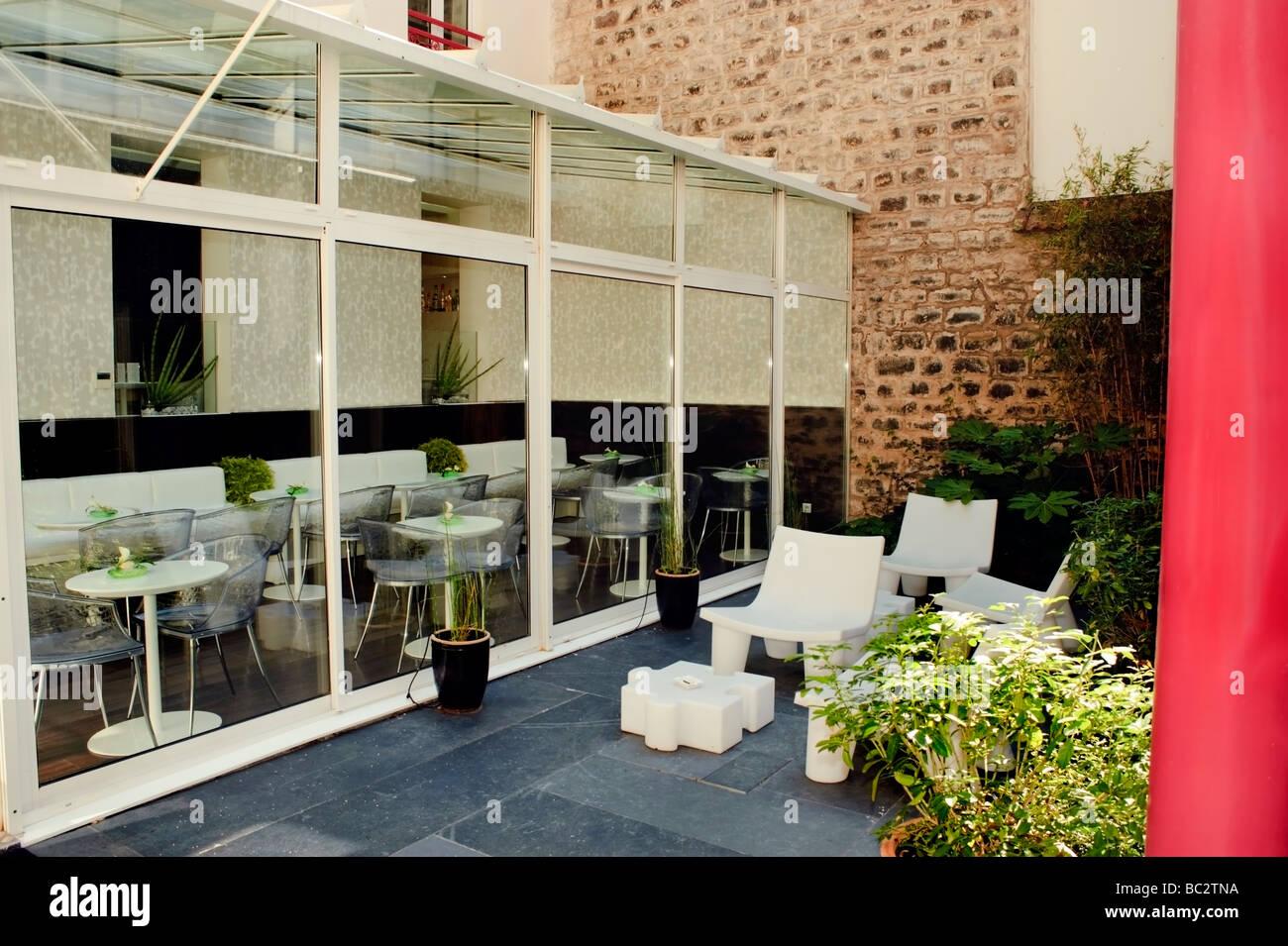 """paris france, interior contemporary budget """"boutique hotel"""