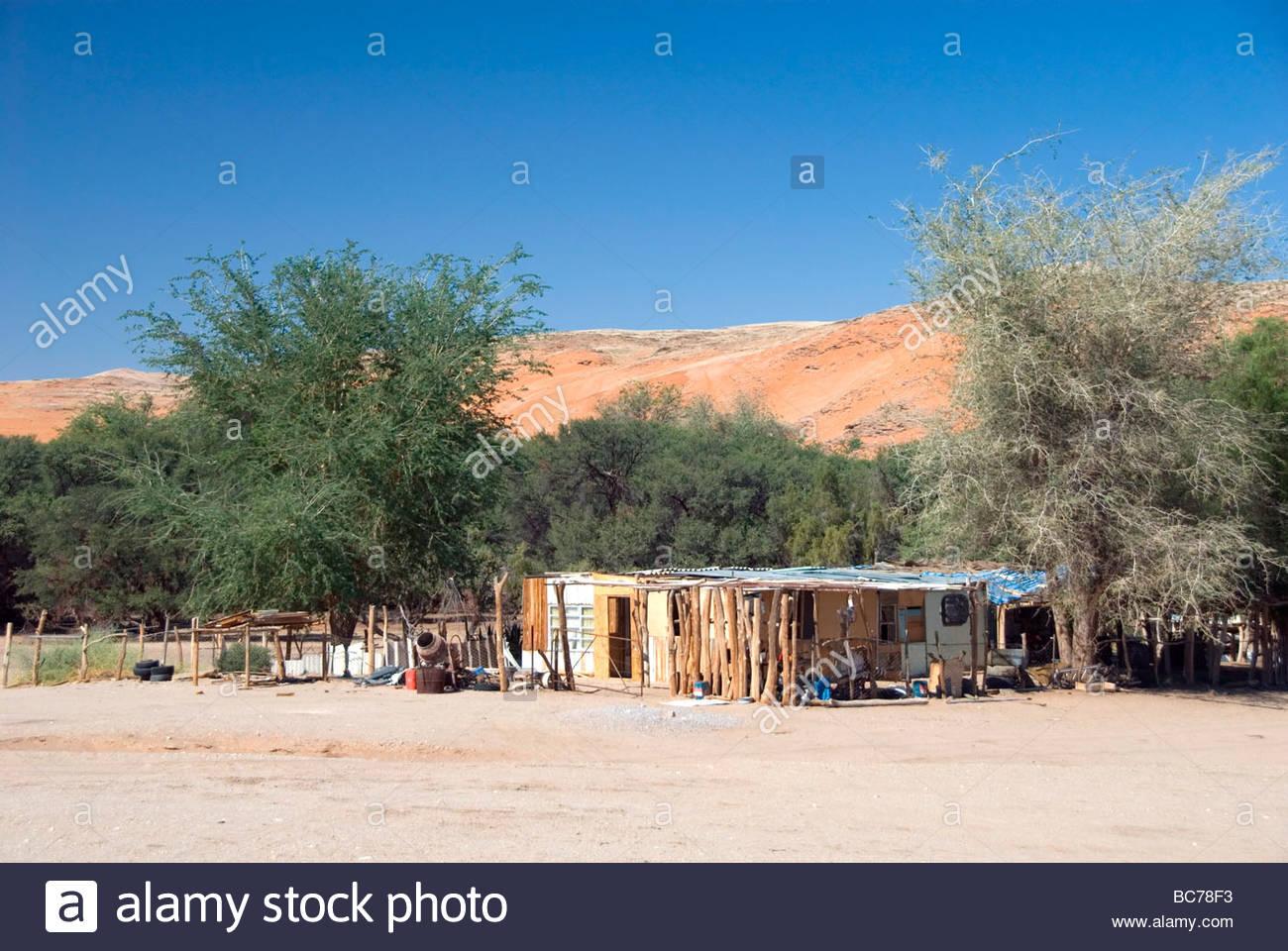 Afrika Namibia Namib Naukluft Park Homeb Topnaar Nama Stock Photos ...