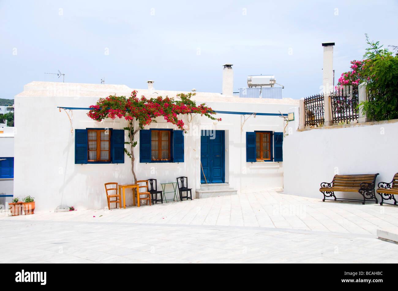 Cafe greece outdoor restaurant coffee shop greek islands