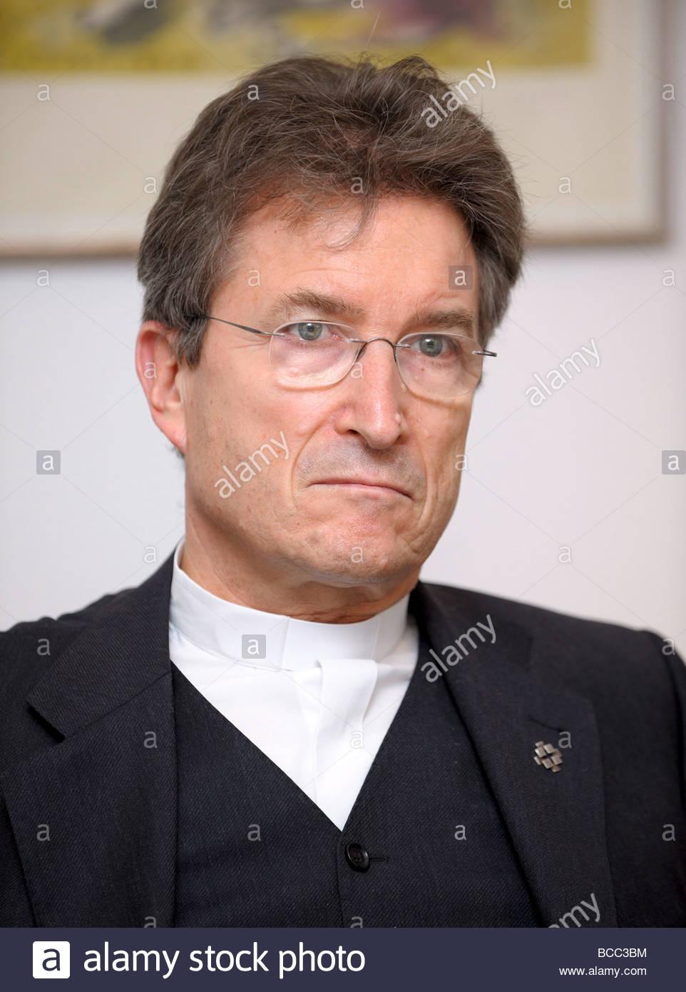 Bishop Wolfgang HUBER Stock Photo - bishop-wolfgang-huber-BCC3BM
