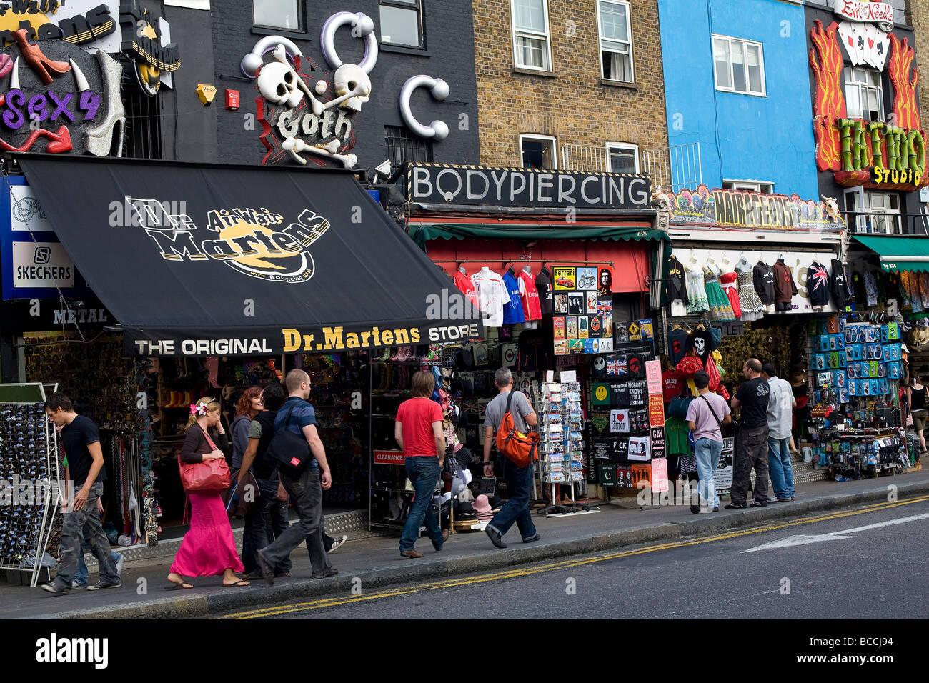 Shoe Shops On Camden High Street