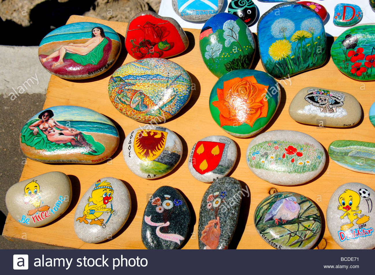 Painted Pebbles For Sale