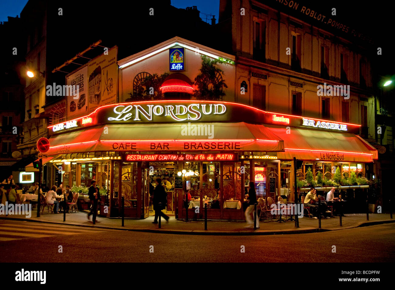 Le nord sud paris france french restaurant cafe bar pub for Restaurant cuisine francaise paris