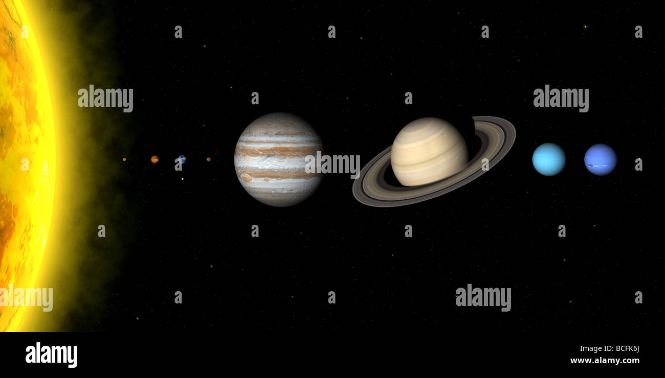 distance scale of our planets - photo #26