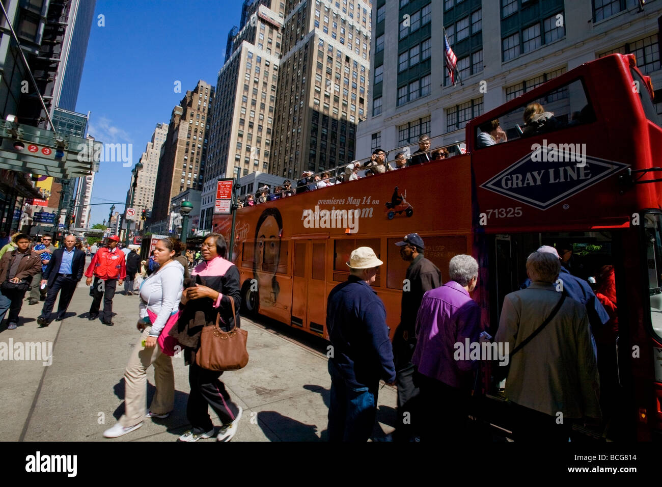 New York City Bus Tours USA Stock Photo Royalty Free Image - Bus tours usa