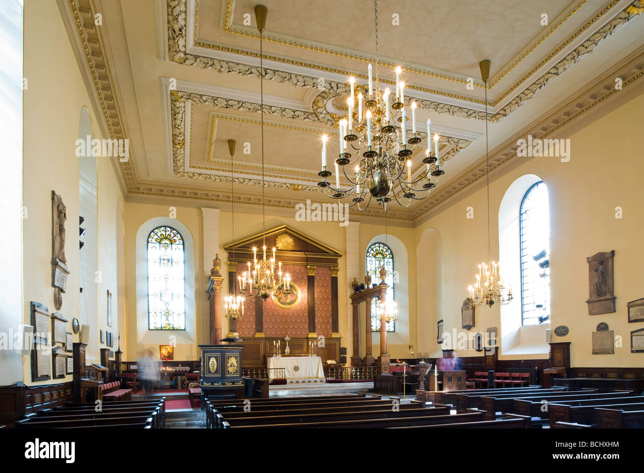 Interior Of St Paul S Church Covent Garden London United Kingdom Stock Photo Royalty Free Image