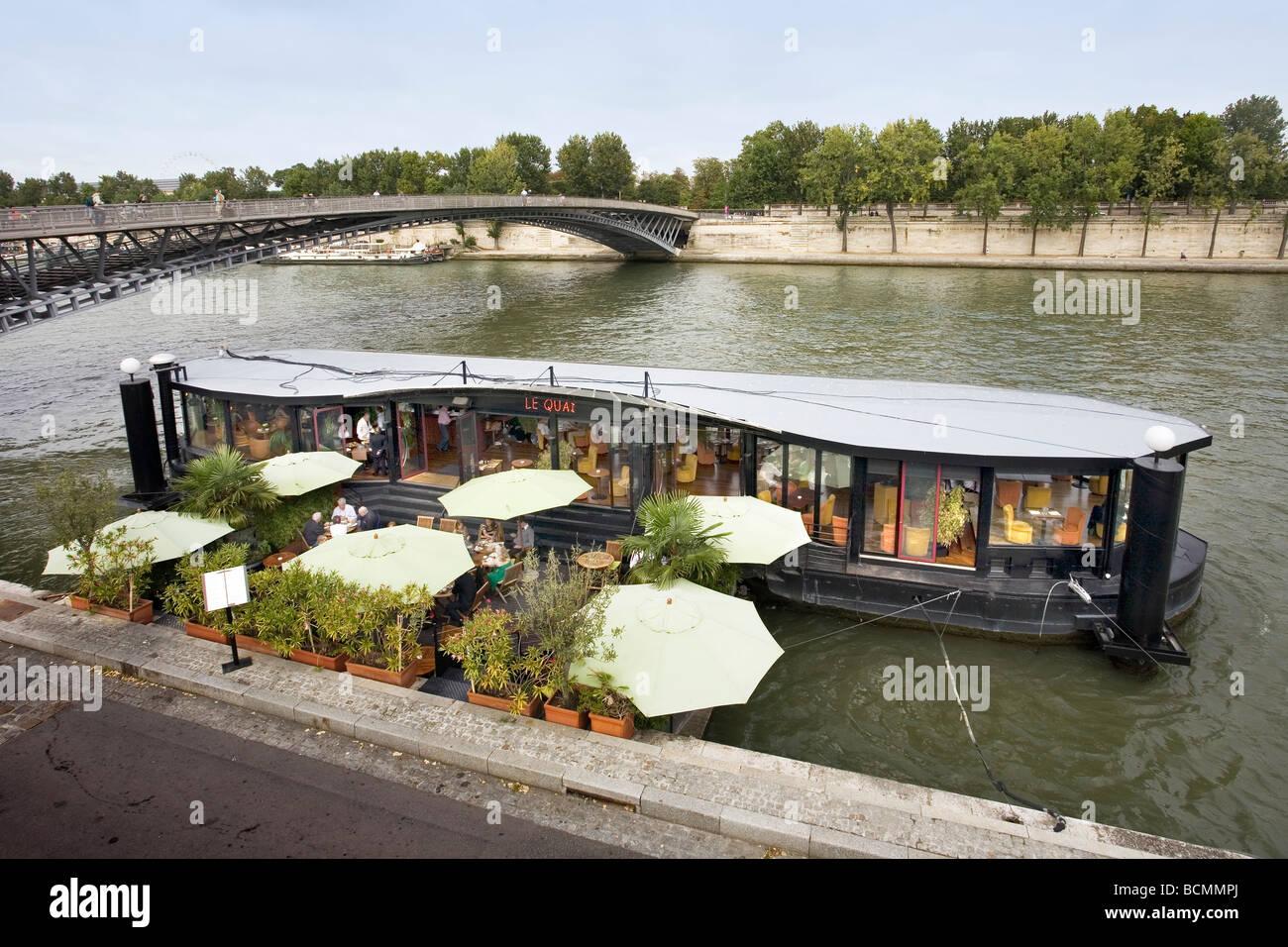 Restaurants On The River Seine Paris