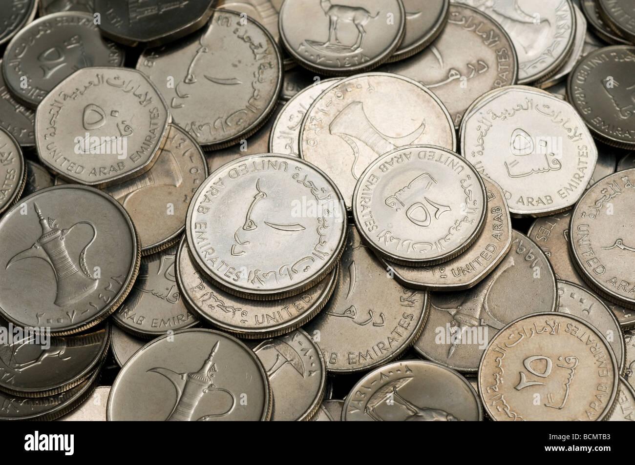 Dubai currency stock photos dubai currency stock images alamy uae dirham coins stock image biocorpaavc