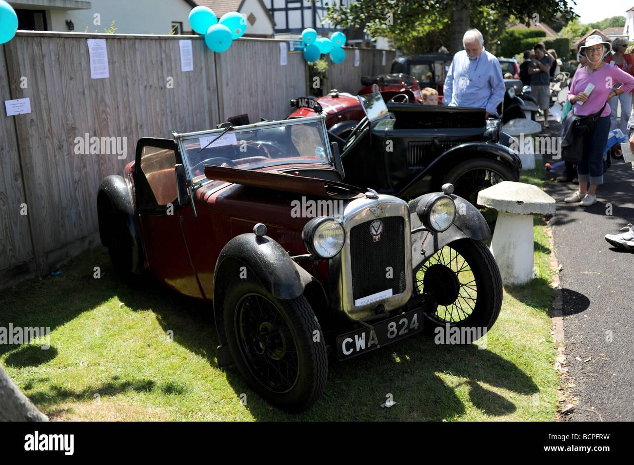 Old Austin cars on display Stock Photo: 25081613 - Alamy