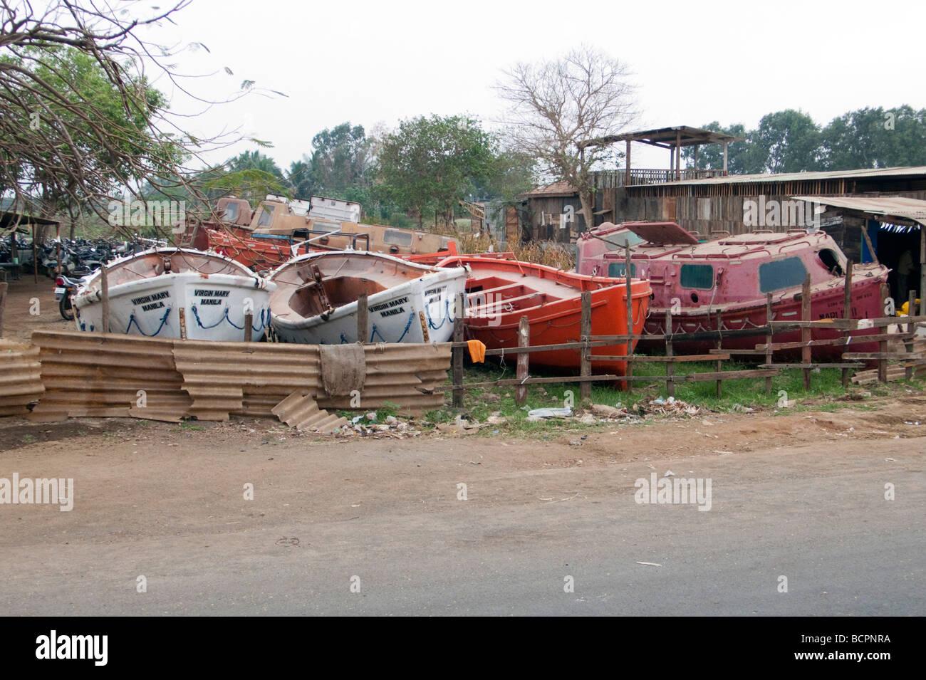 Lifeboats For Sale Ship Breaking Alang Sosiya Recycling