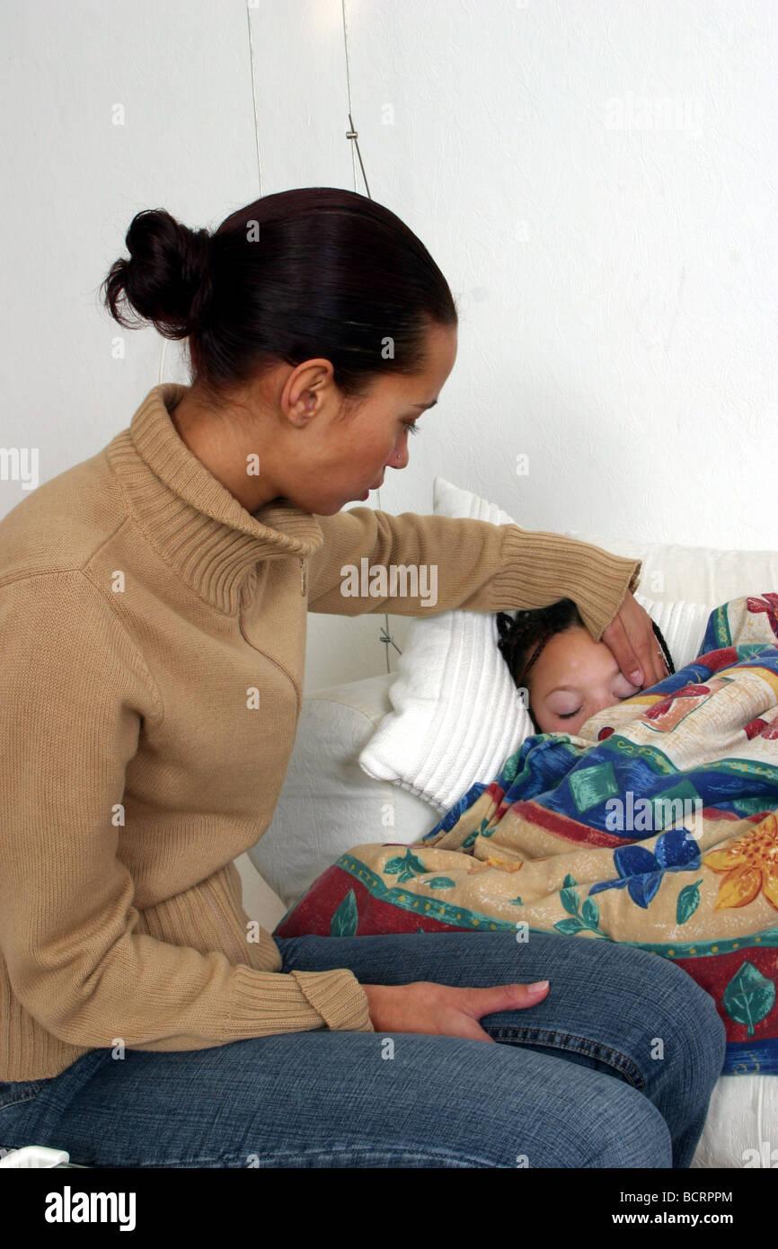 w temping temperature sick child influenza flue seriecvs stock photo w temping temperature sick child influenza flue seriecvs117007