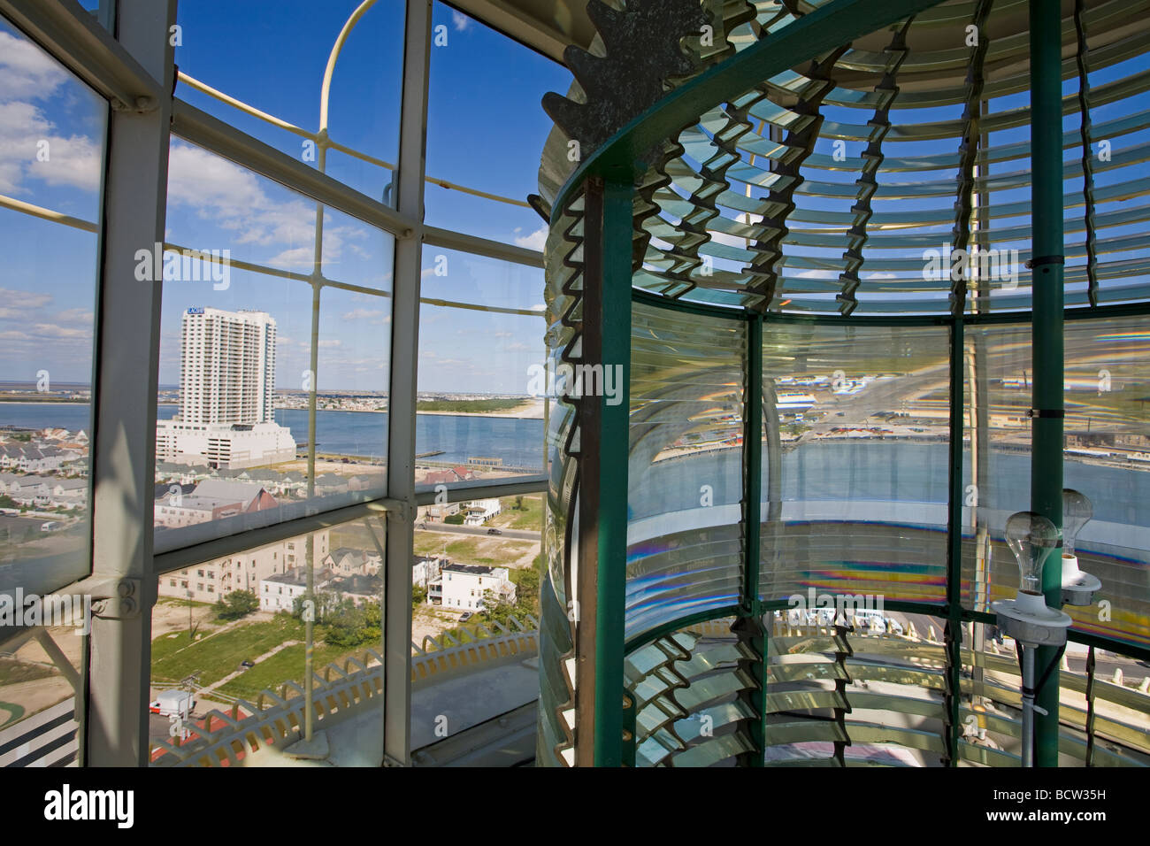 Fresnel Lens In Absecon Lighthouse Museum Atlantic County City New Jersey USA