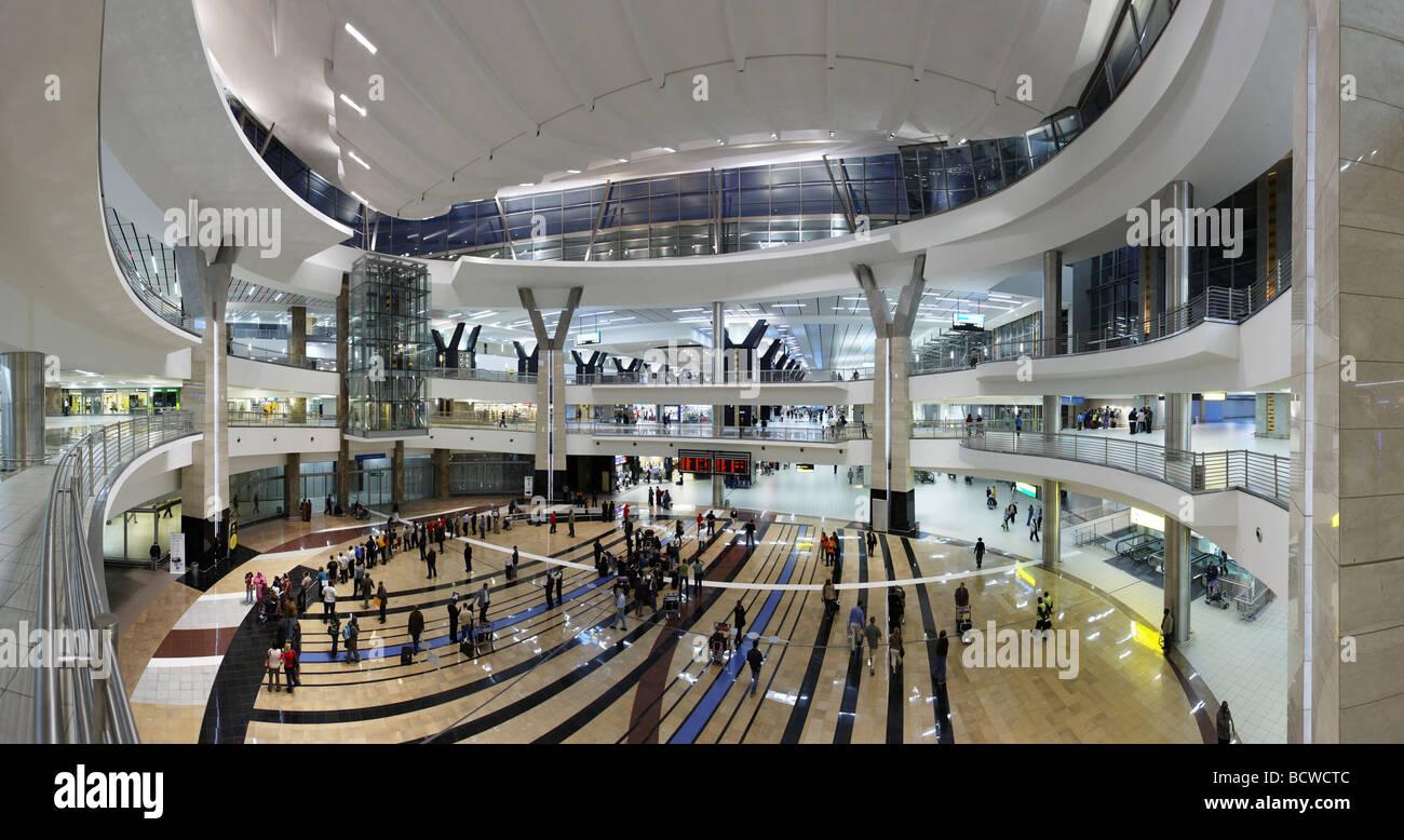 Aeroporto Johannesburg : Panorama arrival hall o r tambo international airport